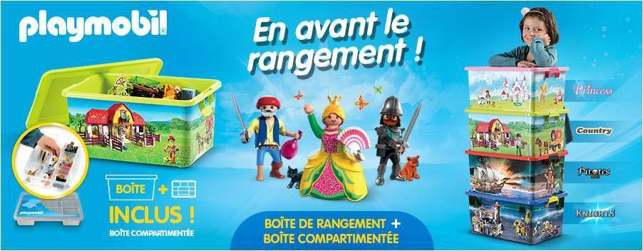 Comment ranger les Playmobil  concours  Lucky Sophie blog maman  Lyon