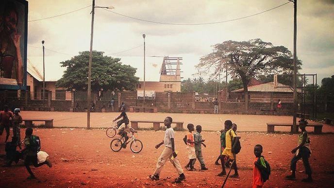 Le terrain mythique de Koudoukou au quartier KM5 à Bangui en République Centrafricaine