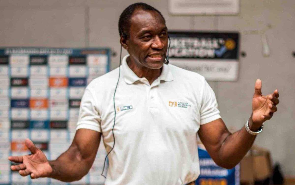 Anicet Lavodrama, nouveau directeur technique national de la Fédération Centrafricaine de basketball