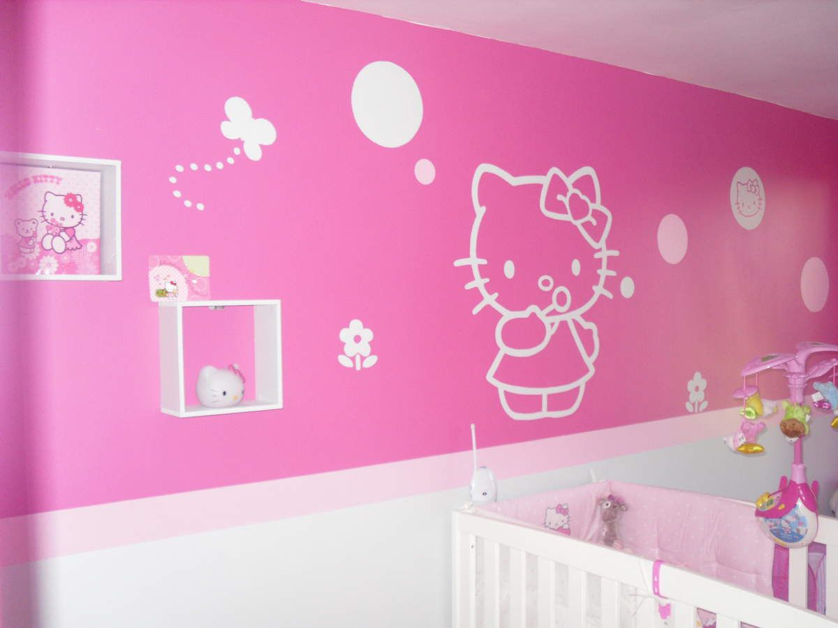 Chambre Enfant Fille Hello Kitty Excellent Jeux De Fille Chambre De Bebe Hello Kitty With