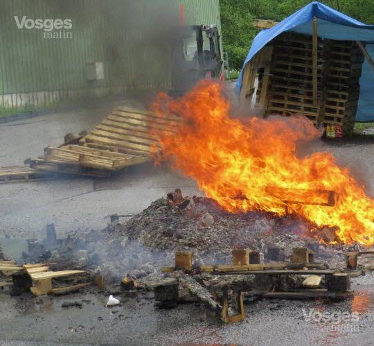 Grève reconduite chez Prysmian à Cornimont (Vosges)