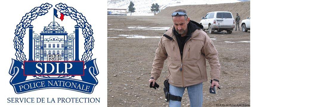 Franck Brinsolaro à Kaboul