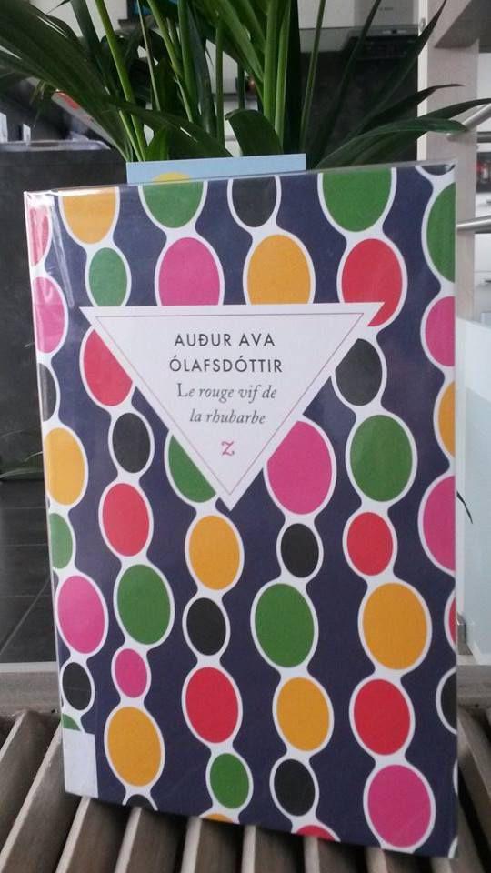 Le Rouge Vif De La Rhubarbe : rouge, rhubarbe, Rouge, Rhubarbe, Audur, Olafsdotir, Sylire