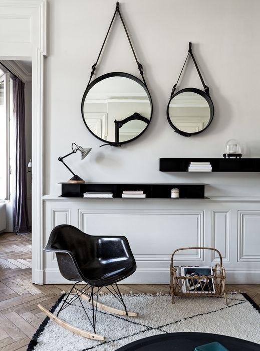 Un miroir dans le salon  les 3 tendances  suivre  A