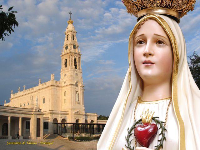 """Résultat de recherche d'images pour """"reine du rosaire de fatima"""""""
