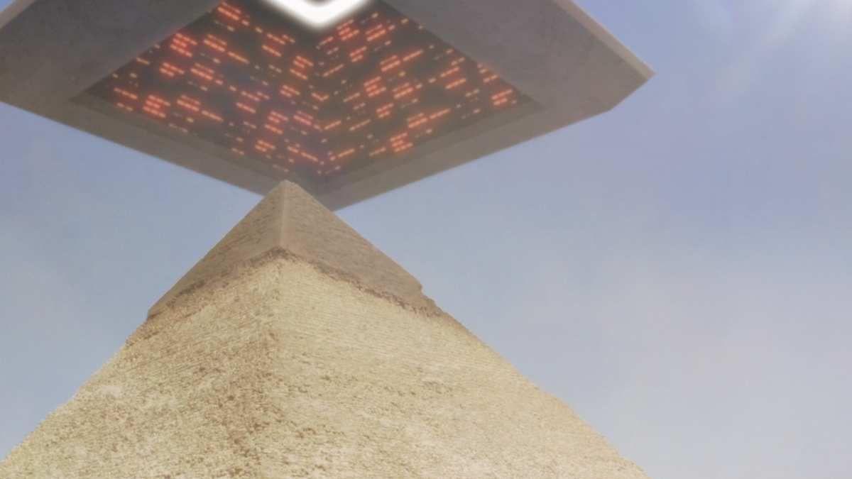 Great Pyramid Giza Section