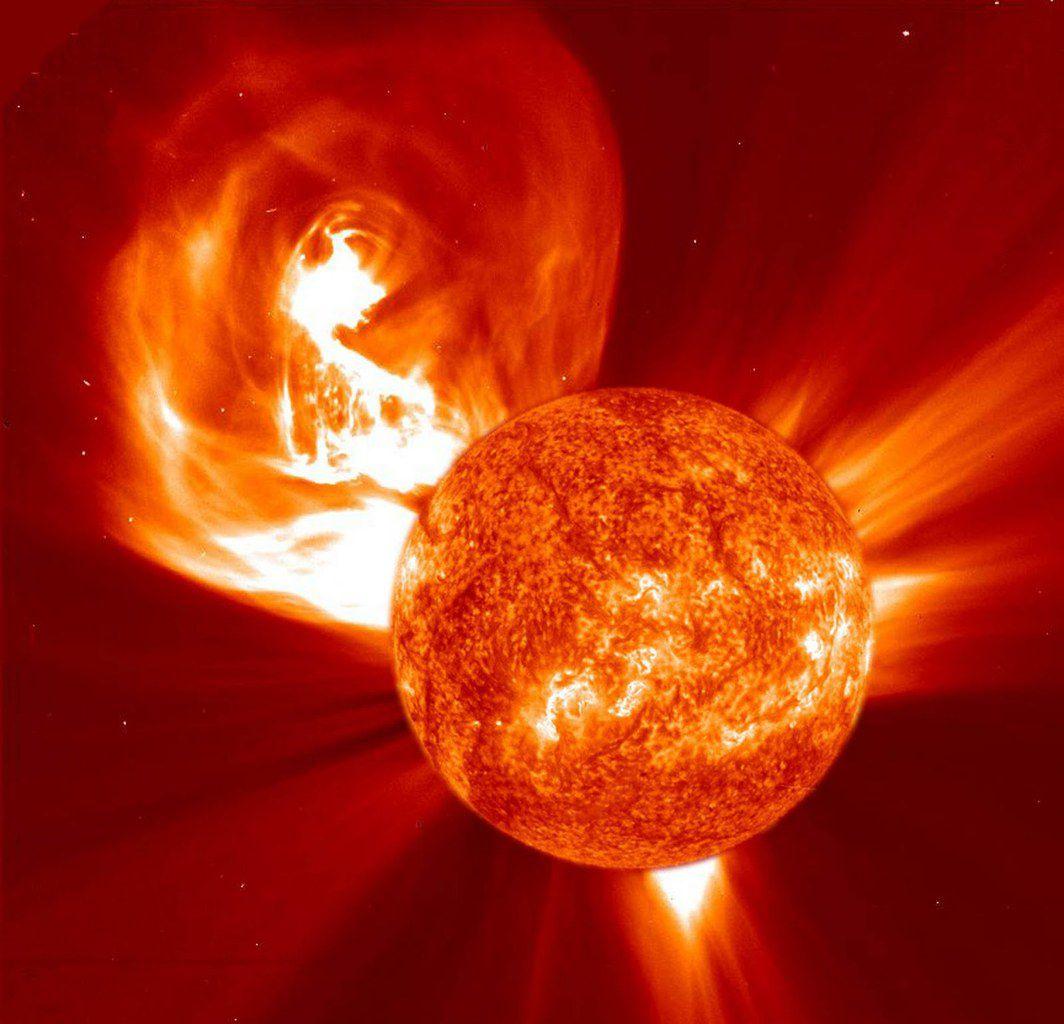 """Le Soleil est- il sur le point d'engendrer une """"super éruption"""" dévastatrice … ?"""