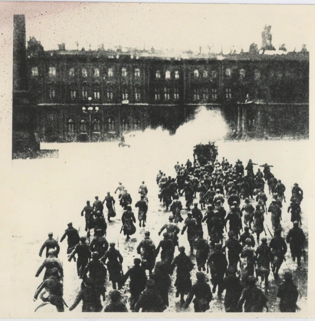 Petrograd 1917, Nazim Hikmet