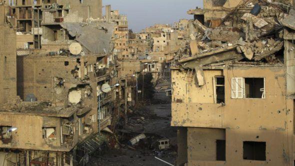 """Rusia califica de """"puesta en escena"""" el presunto ataque químico en Siria"""