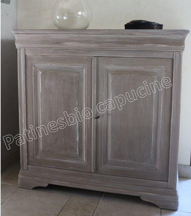 peindre un meuble en merisier