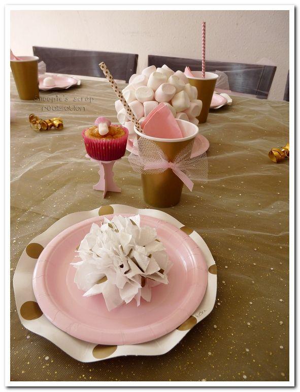 Anniversaire de Manon - Sweet table & décoration
