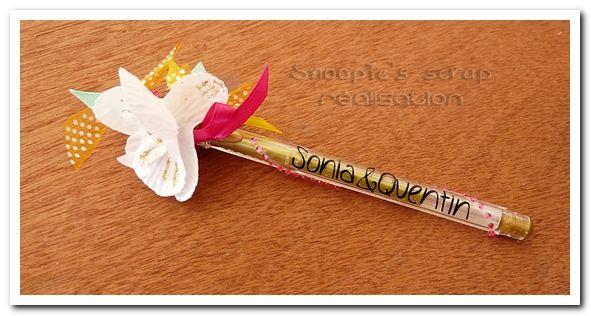 Stylo Sonia & Quentin - exotique & oriental - jaune, orange, fushia & turquoise avec touches dorées