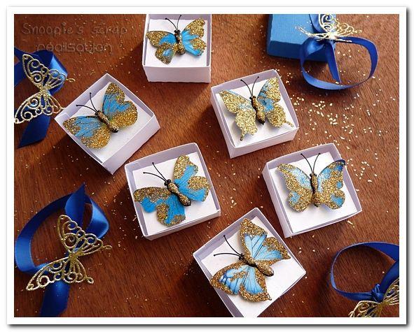 invitation anniversaire maélia - thème Cendrillon (2015) - bleu roi & doré
