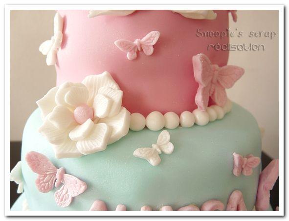 Gâteau Alyssa - Cendrillon