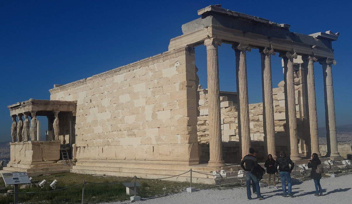Parthénon, Erechtheion