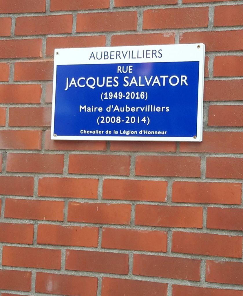 Rue Jacques Salvator à Aubervilliers