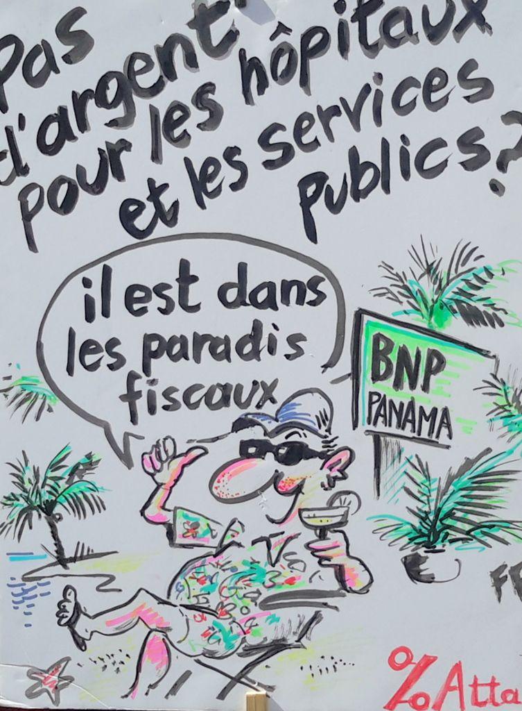 Faucheurs de chaises contre BNP