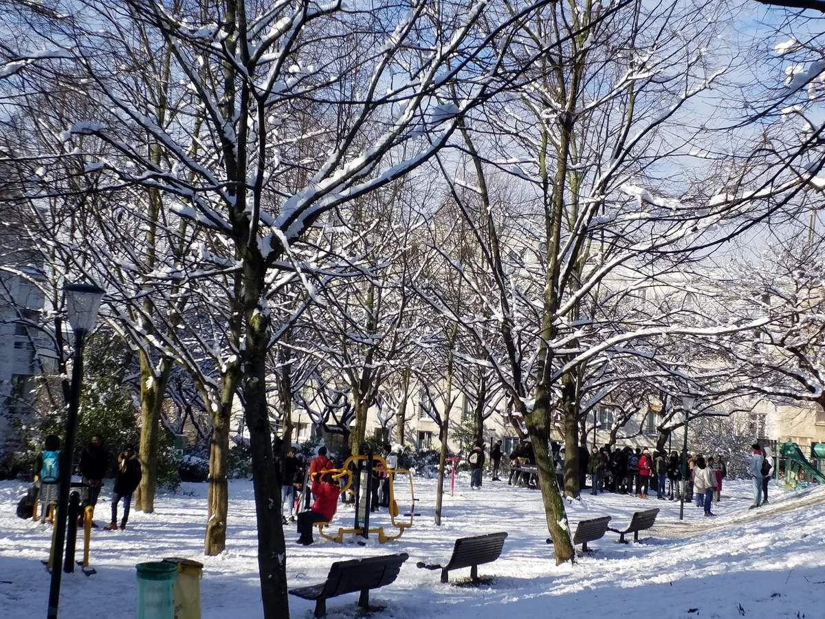 Actualité au Parc de Belleville
