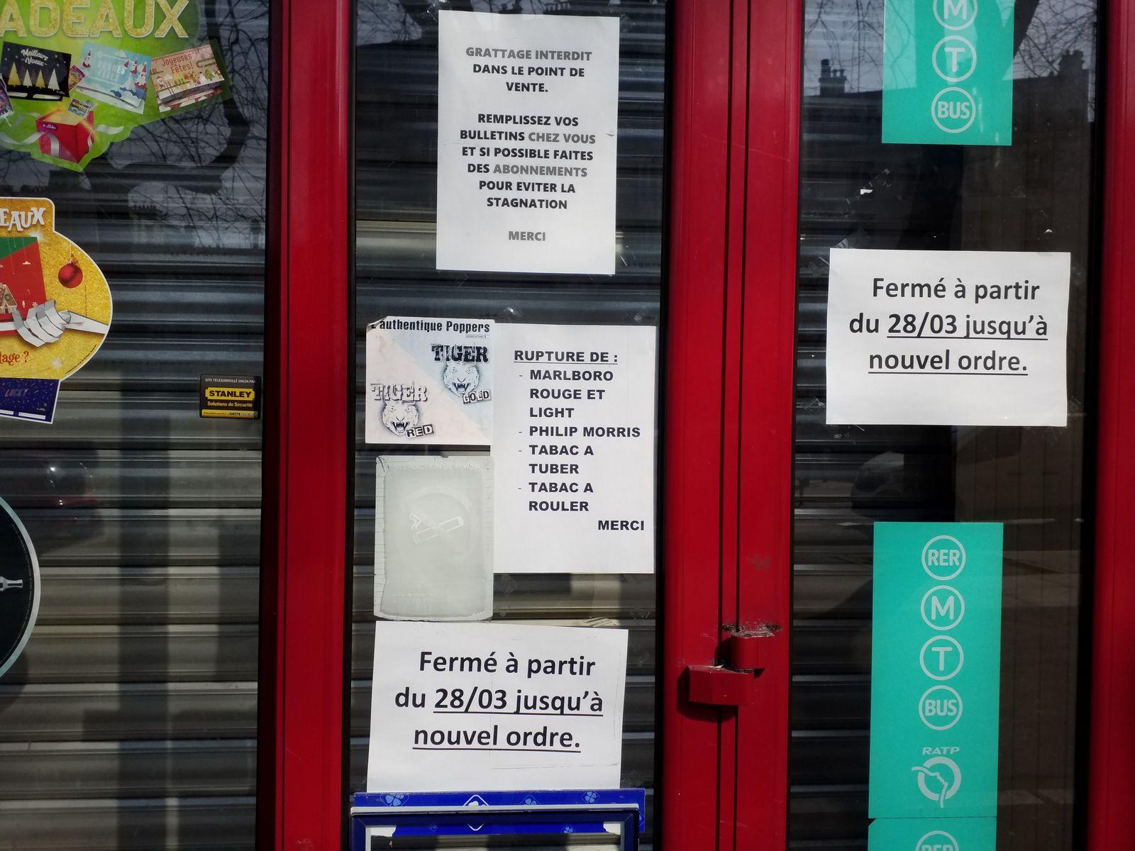 Pl Jean Ferrat, r de Ménilmontant, r Delaître, r Duris (2), bd de Ménilmontant(3, pl. Jean Ferrat, Maronites (28/03/20).