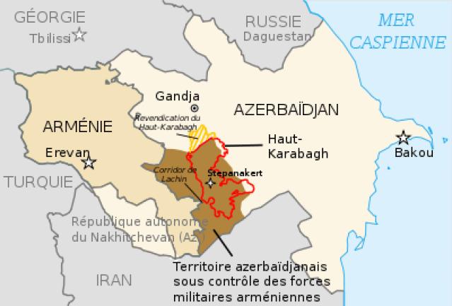 Ca chauffe au Caucase