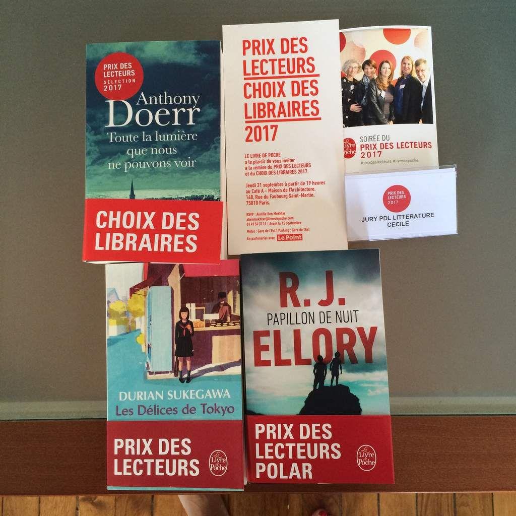Soiree De Remise Des Prix Du Livre De Poche 2017 Les