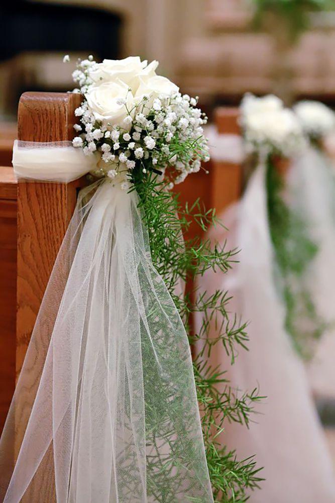 Decoration Banc Eglise Pour Mariage