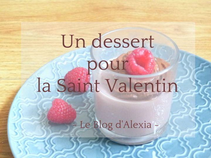 Recette Saint Valentin : Panna Cota Framboise-chocolat Vegan !