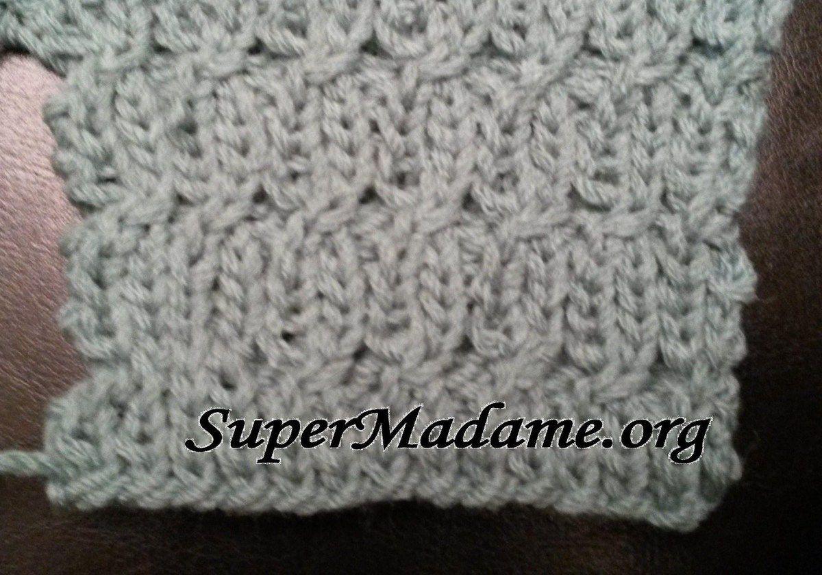 Tricot Point De Maille   Points Crochet Tutoriels Gratuits Proposés ... be9f1b876d7
