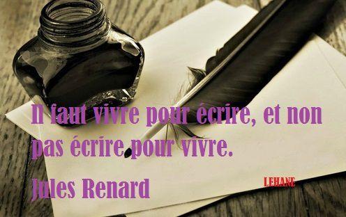 Citation du week end / Jules Renard