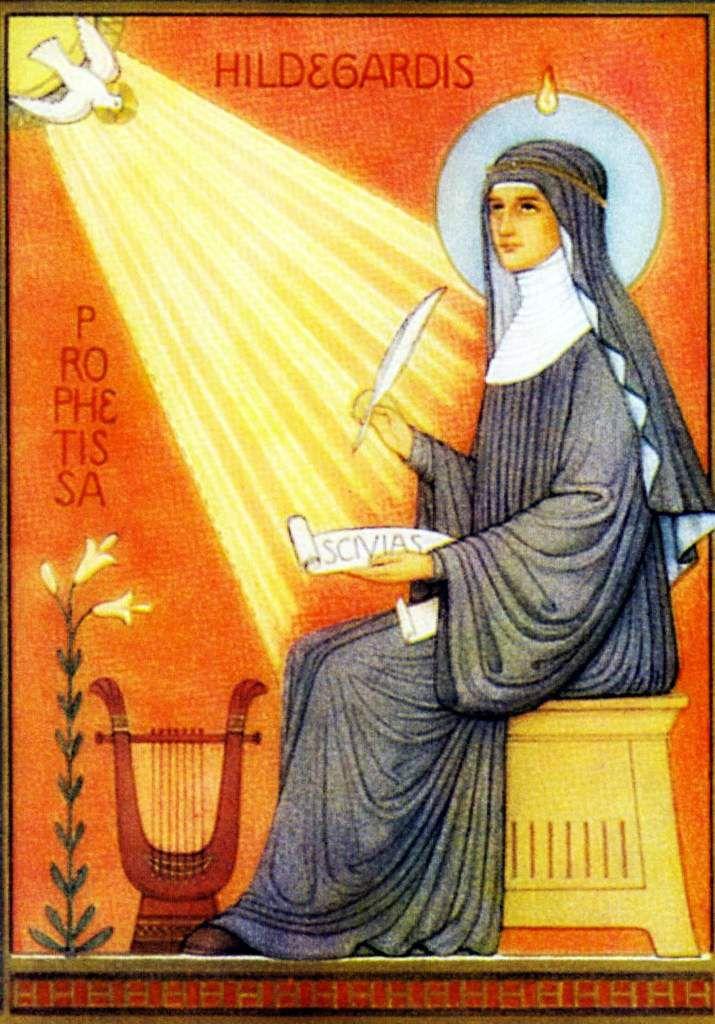 Sainte Hildegarde Et Les Pierres : sainte, hildegarde, pierres, Demande, Guérison, Auprès, Sainte, Hildegarde, Médium, Guérisseur