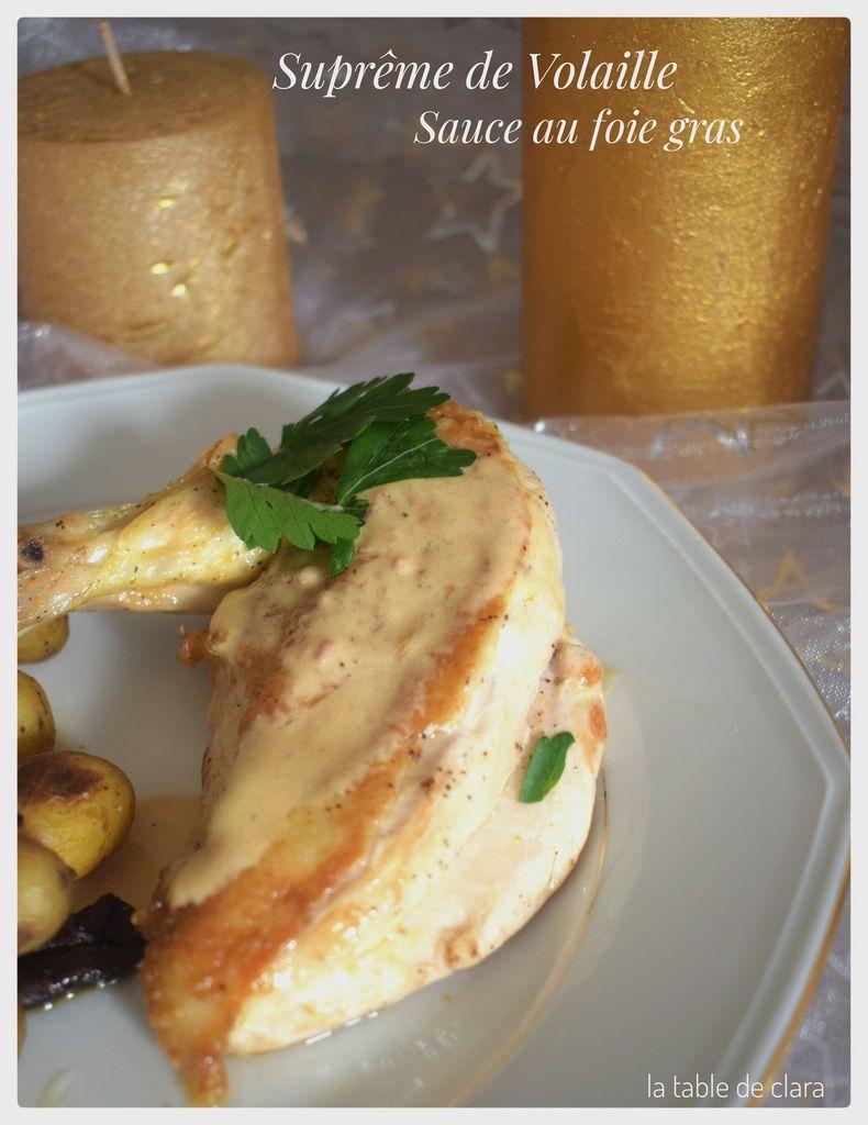 Meilleur Sauce Au Foie Gras : meilleur, sauce, Suprême, Volaille, Sauce