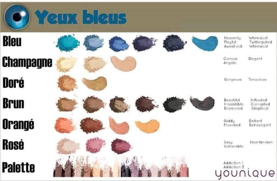 Maquillage Pour Yeux Bleu Finest Revenons Nos Couleurs De