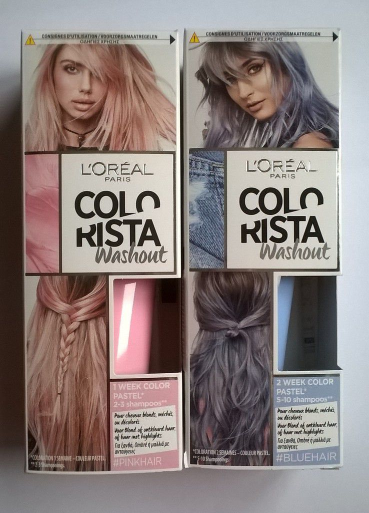Loreal Colorista Dirty Pink L 39;oréal Paris Colorista Washout Et Colorista Fader