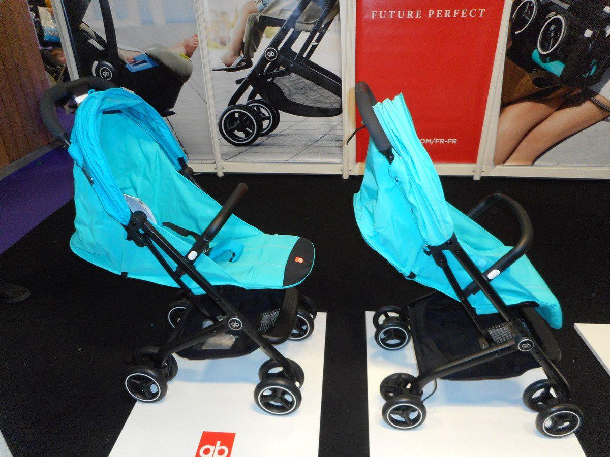 Les micro poussettes de GB (Good Baby) Qbit et Qbit+ - Les ... f4c95d4f5a6
