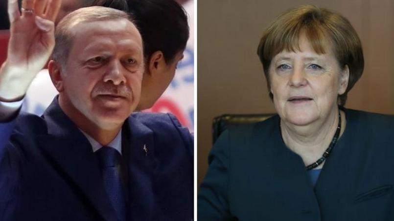 LE FIGARO - Crise entre Berlin et Ankara : Erdogan défie l'Europe en son coeur