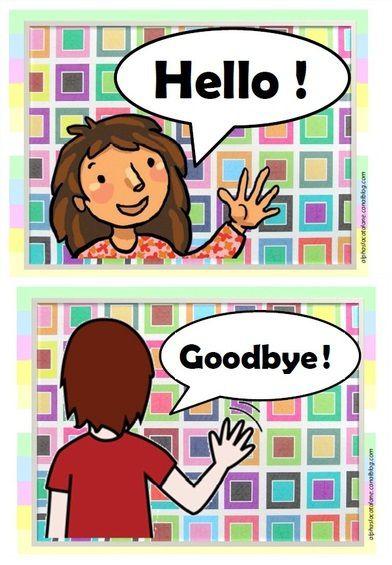 Dire Au Revoir En Anglais : revoir, anglais, Leçon, Comment, Saluer/prendre, Congé, Anglais, English, Lessons