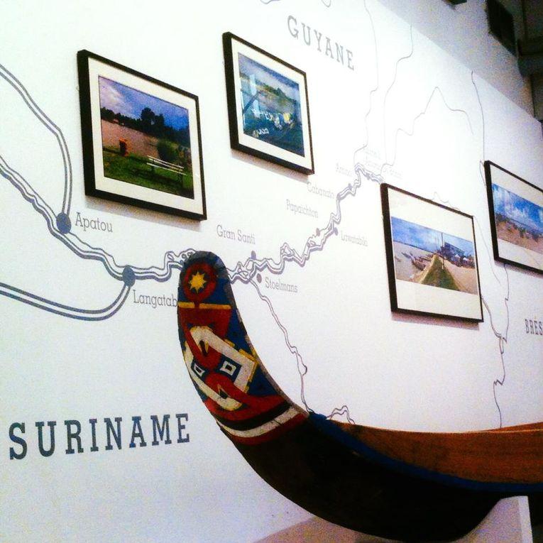 © Culture Access - Quelques oeuvres exposées au Musée de l'histoire de l'immigration pour l'exposition FRONTIÈRES.