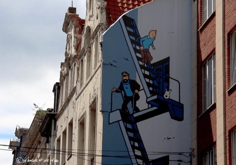 Balade Littéraire #17 : Parcours BD à Bruxelles