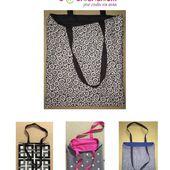 Tote Bag réversible - Tuto Couture DIY - Viny DIY, le blog de tutoriels couture et DIY.
