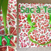 Coudre un Sac à Tarte - Tuto Couture DIY - Viny DIY, le blog de tutoriels couture et DIY.