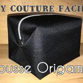 Trousse Origamax - Tuto Couture DIY Facile - Viny DIY, le blog de tutoriels couture et DIY.