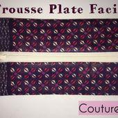 Trousse Plate Facile - Tutoriel Couture DIY - Viny DIY, le blog de tutoriels couture et DIY.
