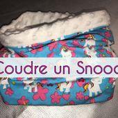 Coudre un Snood Doublé - Tutoriel Couture DIY - Viny DIY, le blog de tutoriels couture et DIY.