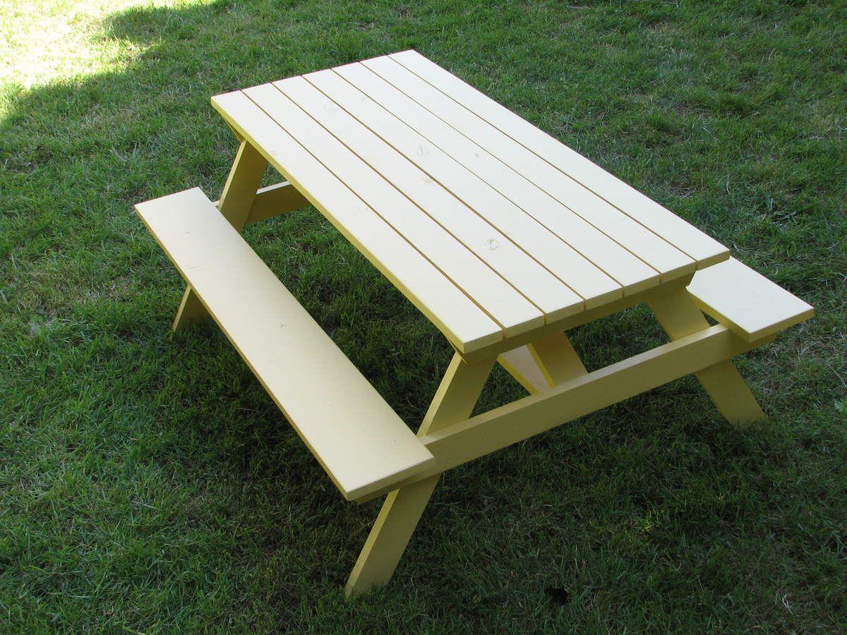 Fabriquer Table De Terrasse