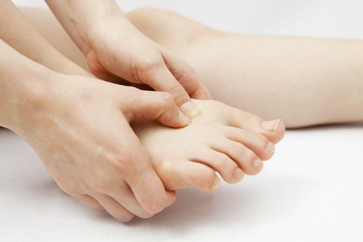 El dolor de pies con fibromialgia