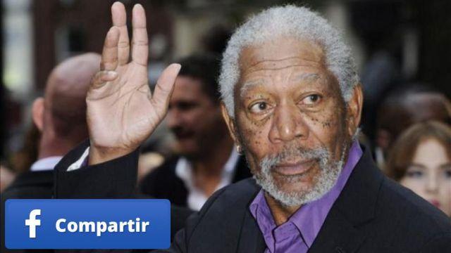 """Morgan Freeman: """"Como, bebo, fumo y aspiro marihuana para aliviar mis dolor crónico"""""""