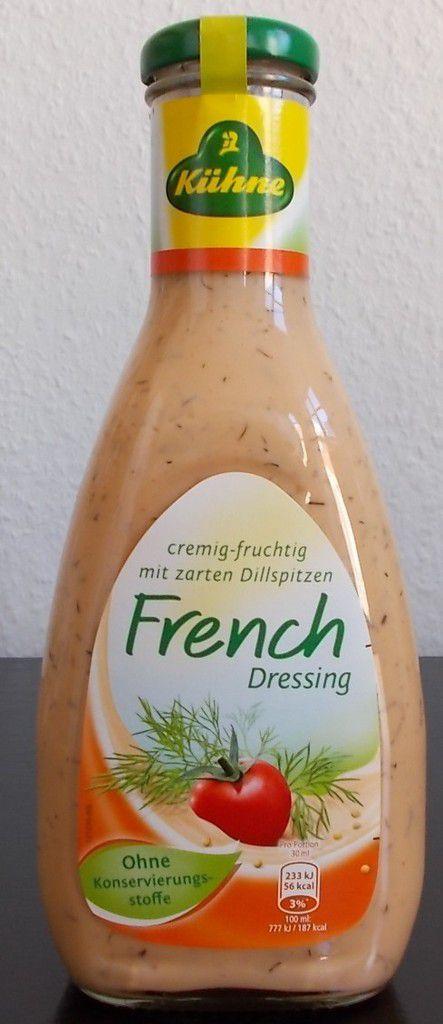 Kühne French Dressing cremig-fruchtig mit Dill - BlogTestesser