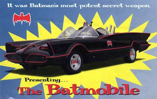 LA BATMOBILE 1966 [ LES BATMOBILE 1 ]
