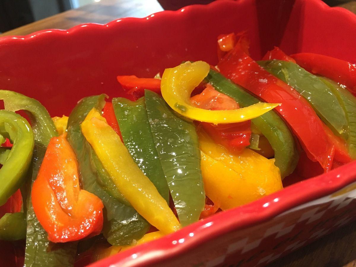Marinade de poivrons grillés