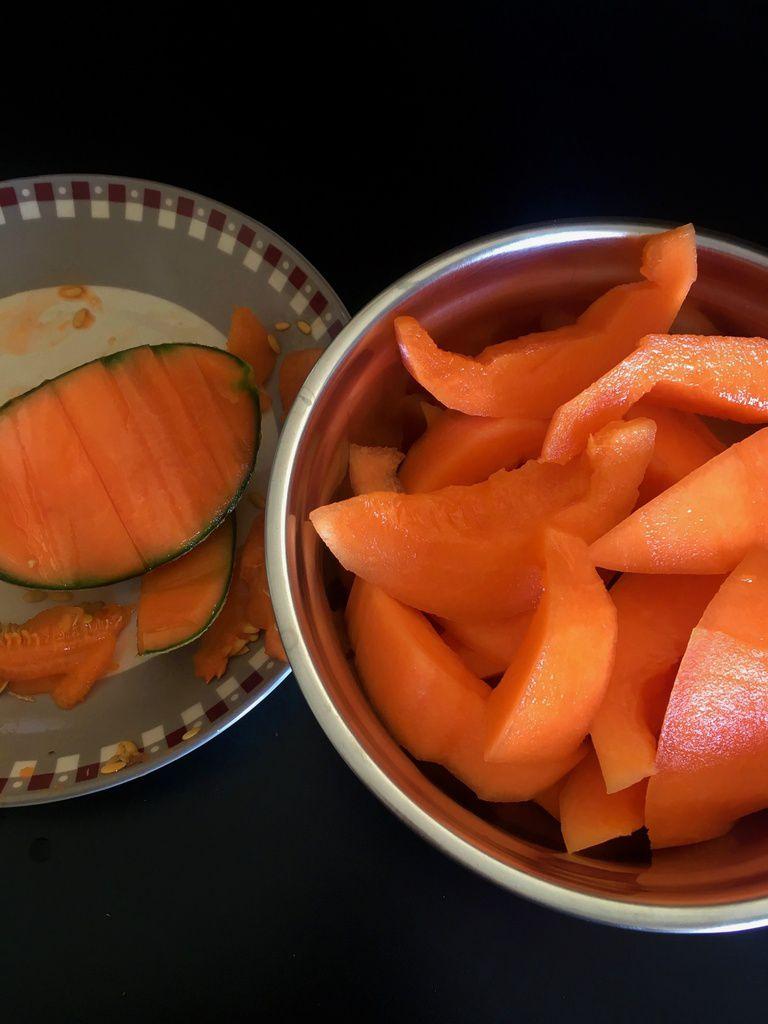 Confit de melon ( Pour calissons)